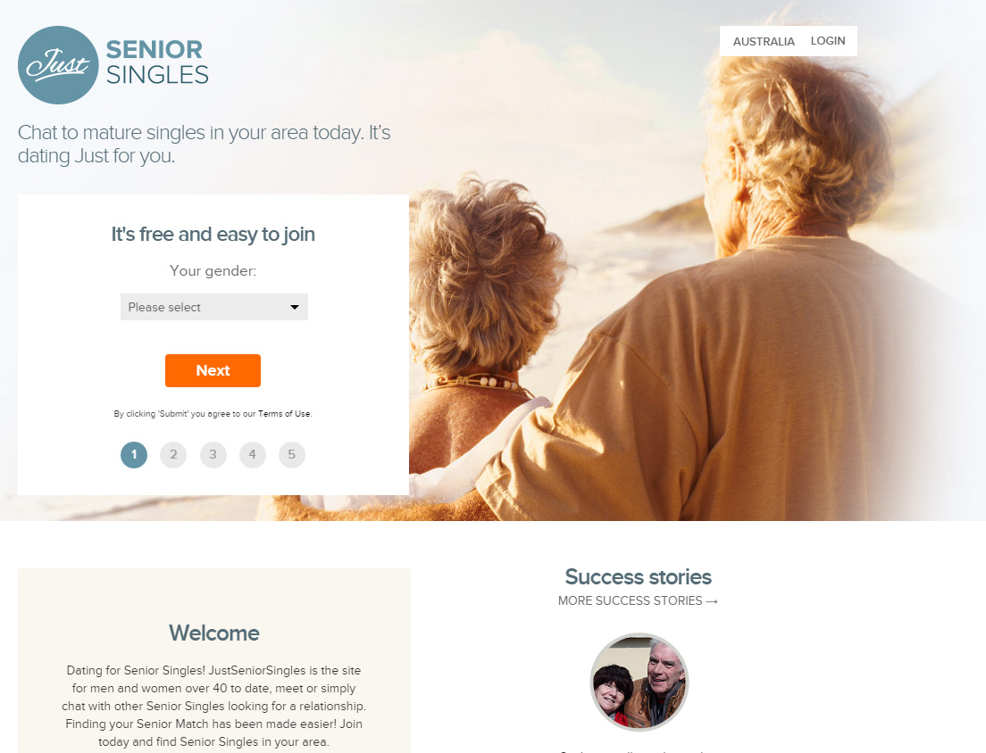senior dating australia