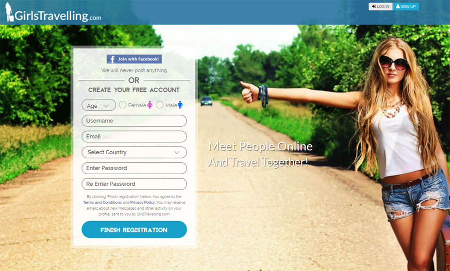 backpacker dating site Backpacker dating is an exciting social networking site designed for people who love exploring the world around them most savvy travellers like browsing the web to search and share the spectacular travel spots, destination tips, reviews and photos of the places they fancied.